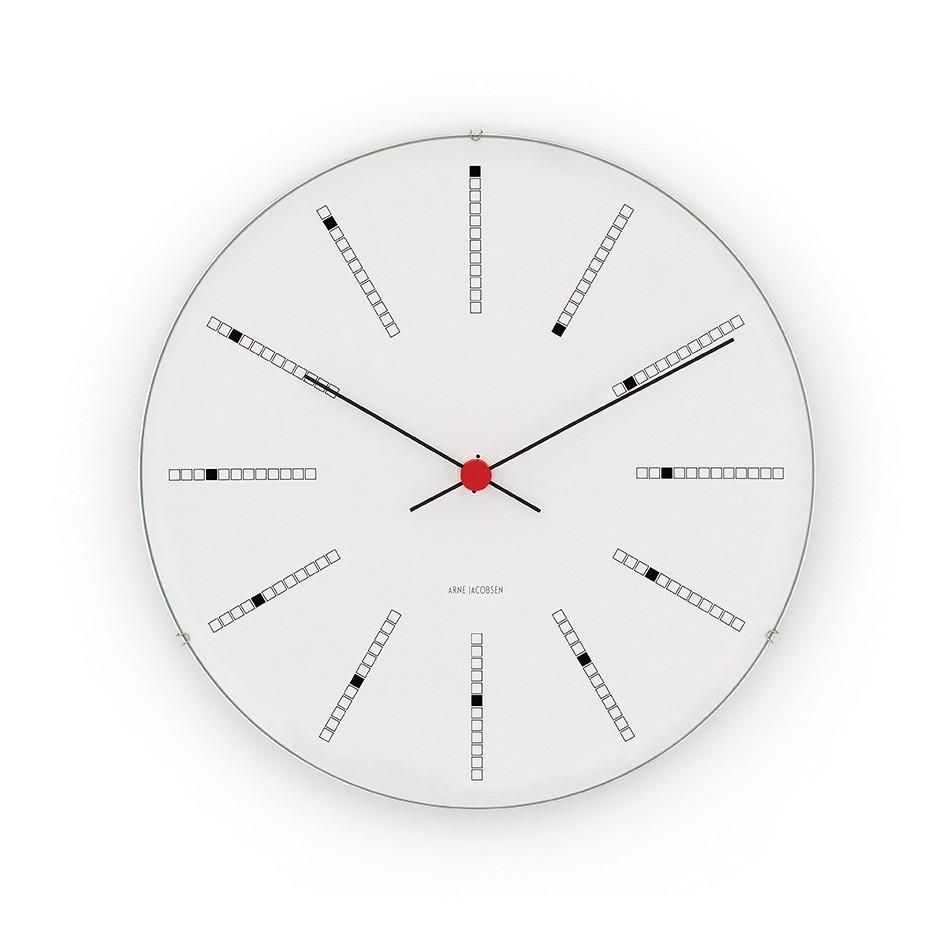 Arne Jacobsen - Bankers Wanduhr 48cm
