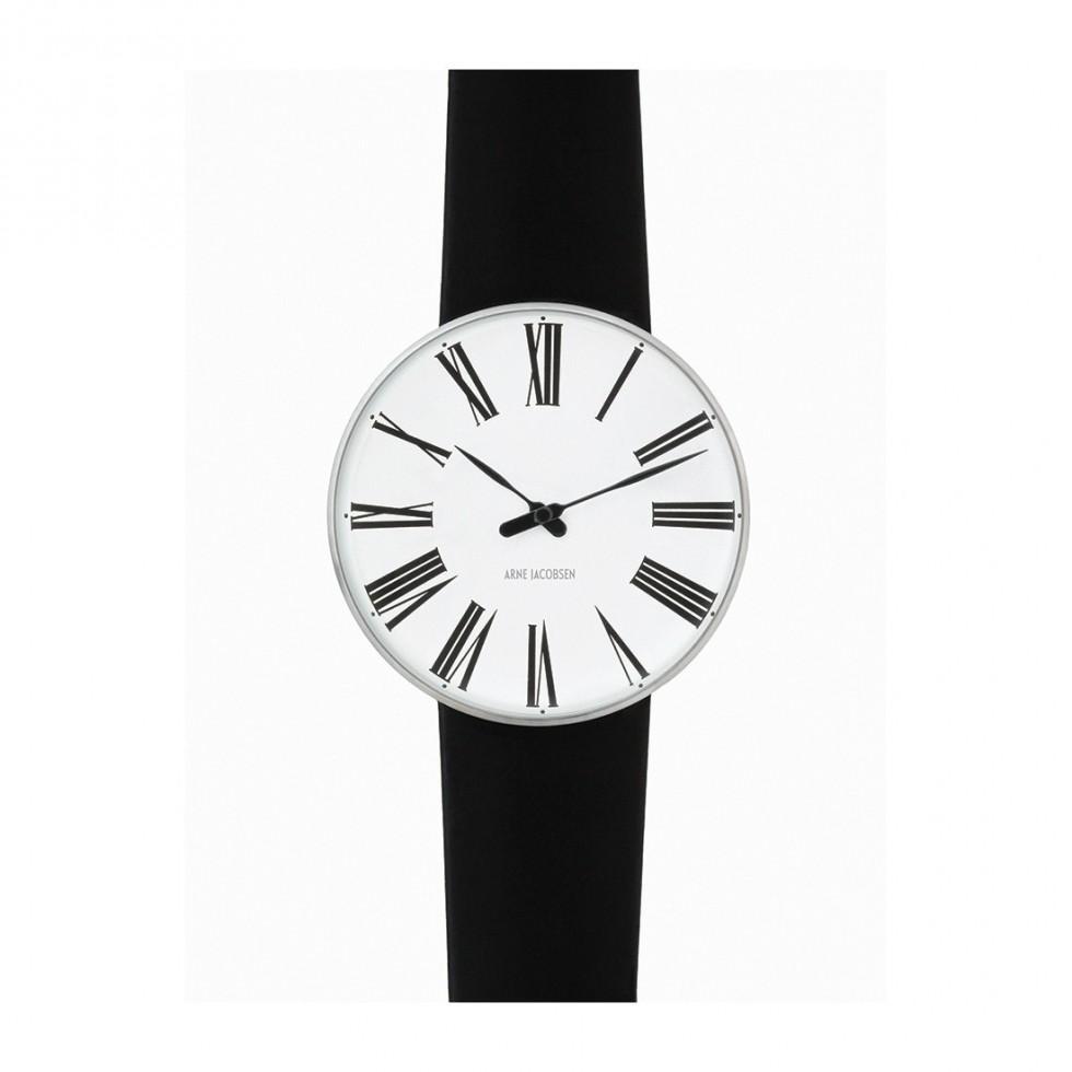 Arne Jacobsen - Roman 40mm, weißes Ziffernblatt