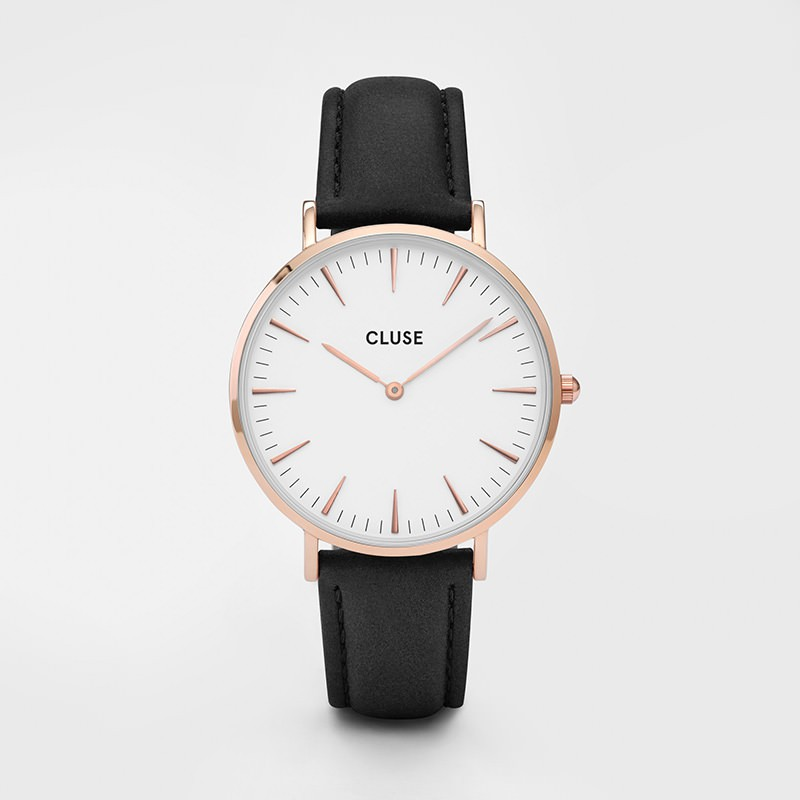 Cluse - La Bohème Rose Gold White/Black
