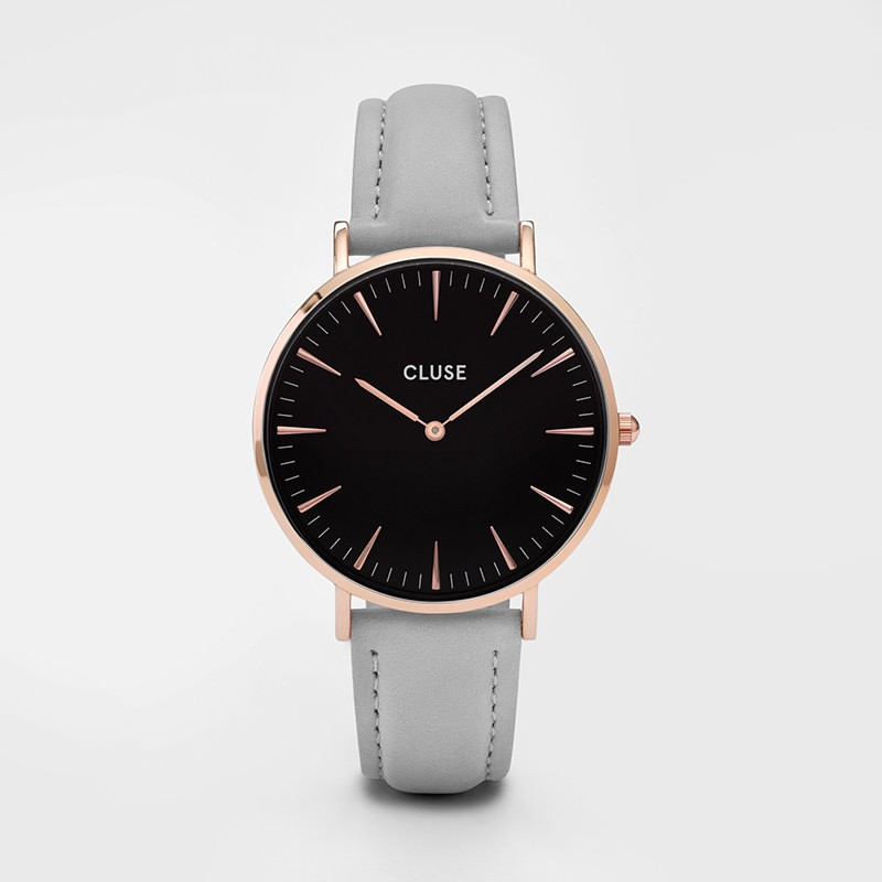 Cluse - La Bohème Rose Gold Black/Grey