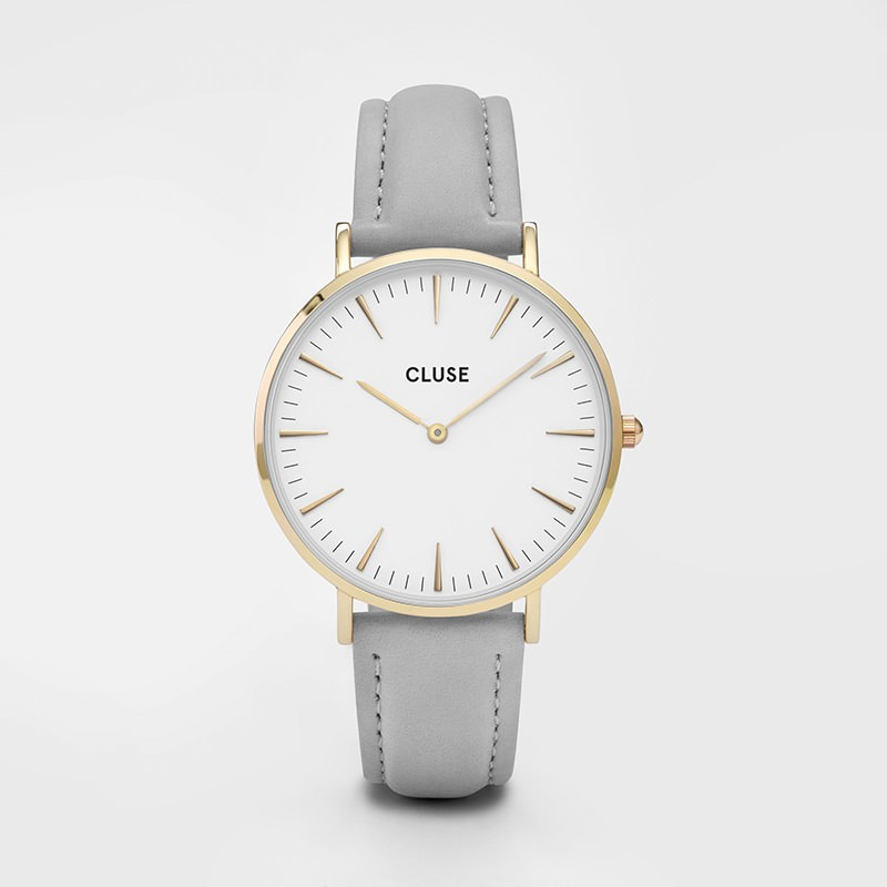 Cluse - La Bohème Gold White/Grey