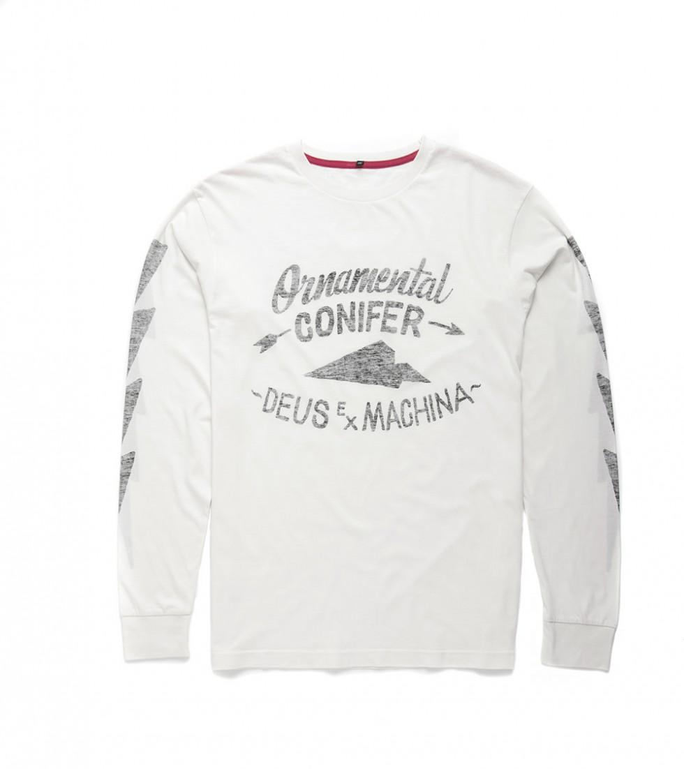 Deus Ex Machina - Adam Langarm T-Shirt