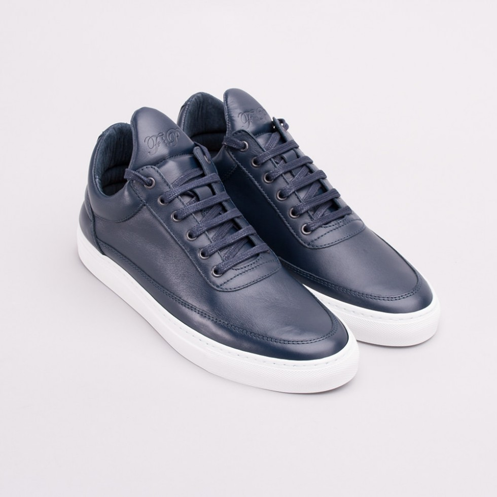 Filling Pieces - Full Grain Low Top Sneaker