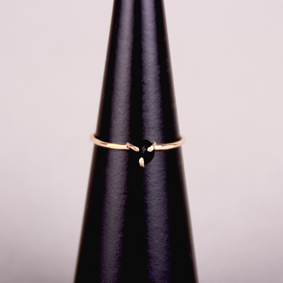 Five and Two - Serena Onyx Ring