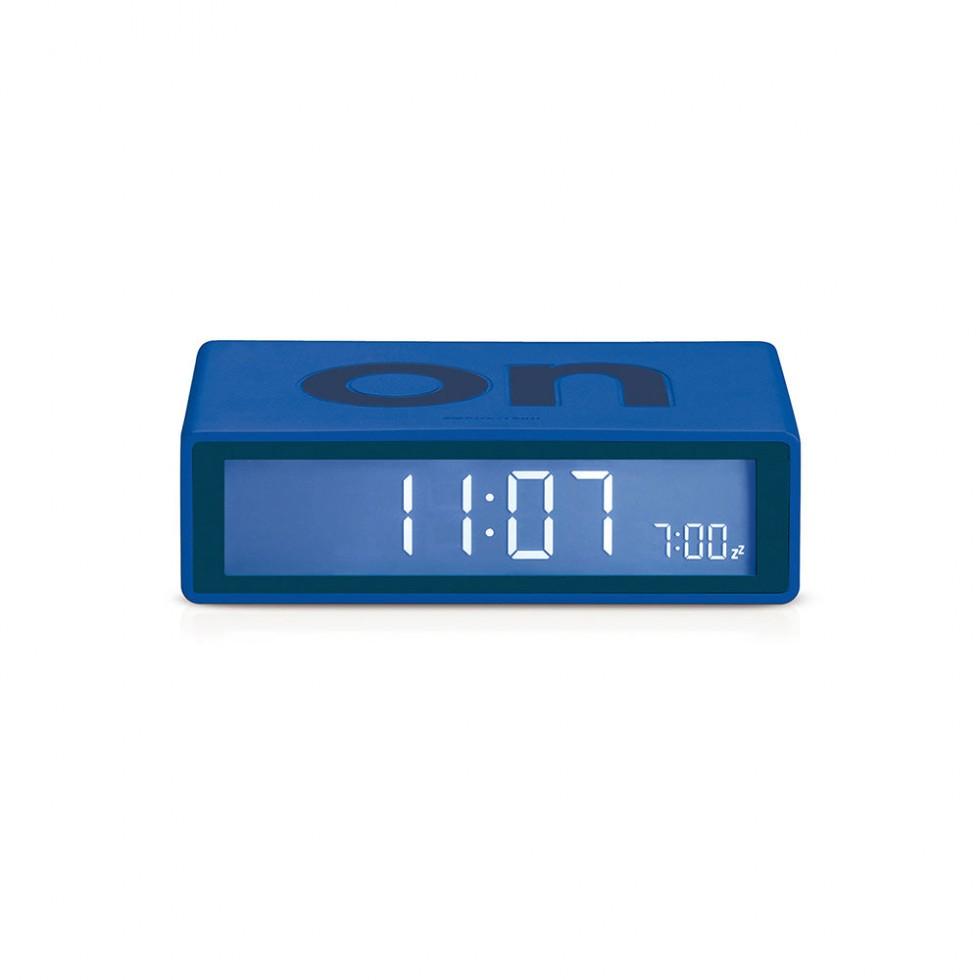 Lexon - Flip Clock Dunkelblau