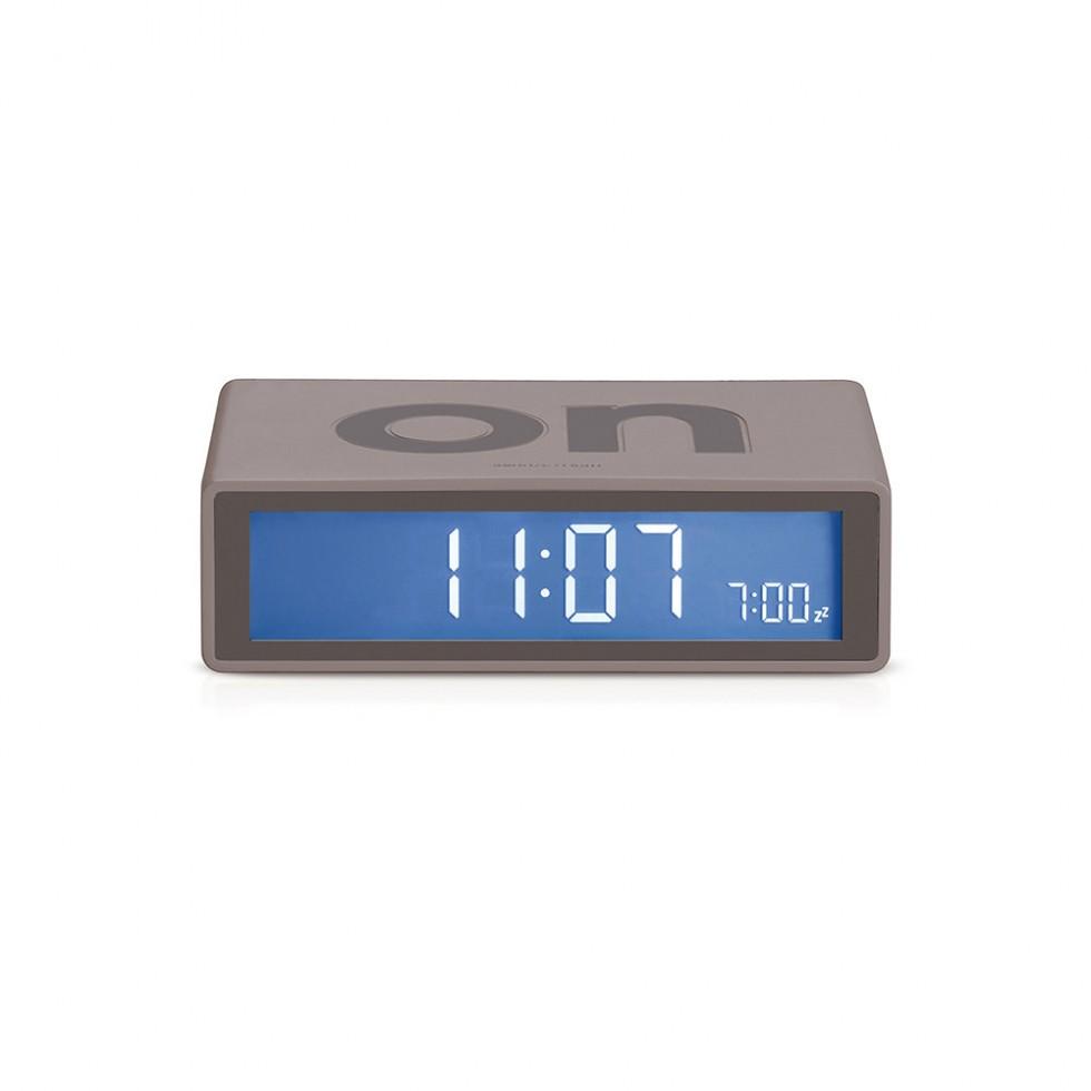Lexon - Flip Clock Grau