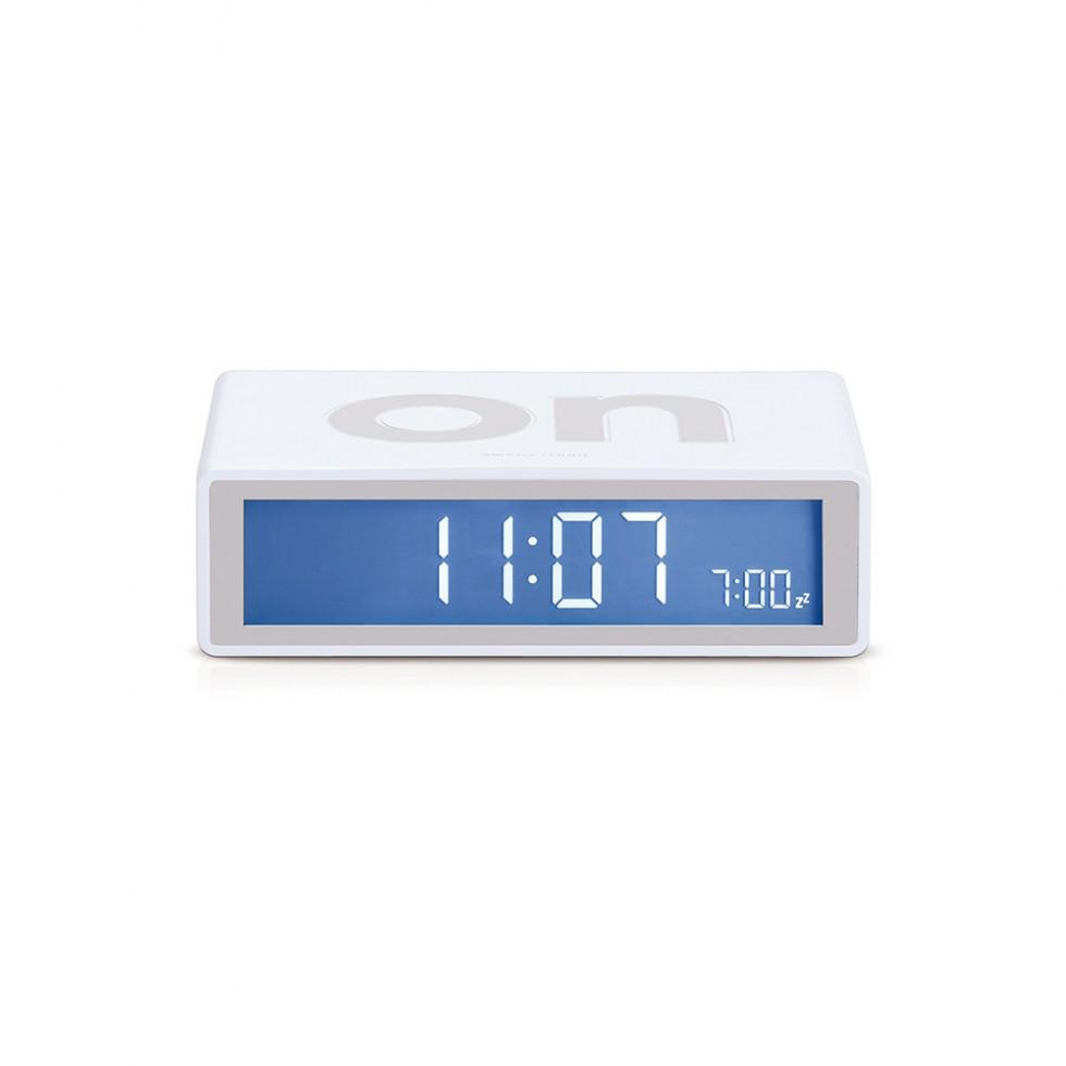 Lexon - Flip Clock Weiß