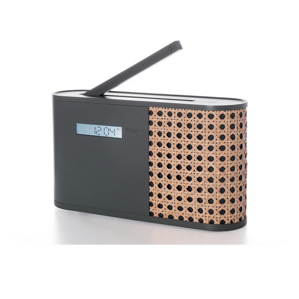 Lexon - Hybrid AM/FM Radio Grau