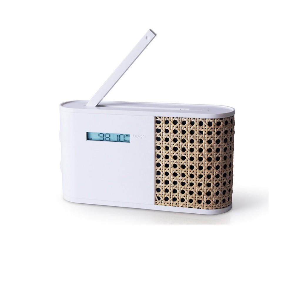 Lexon - Hybrid AM/FM Radio Weiss