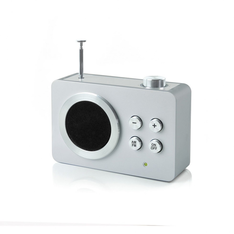 Lexon - Mini Dolmen Radio Aluminium