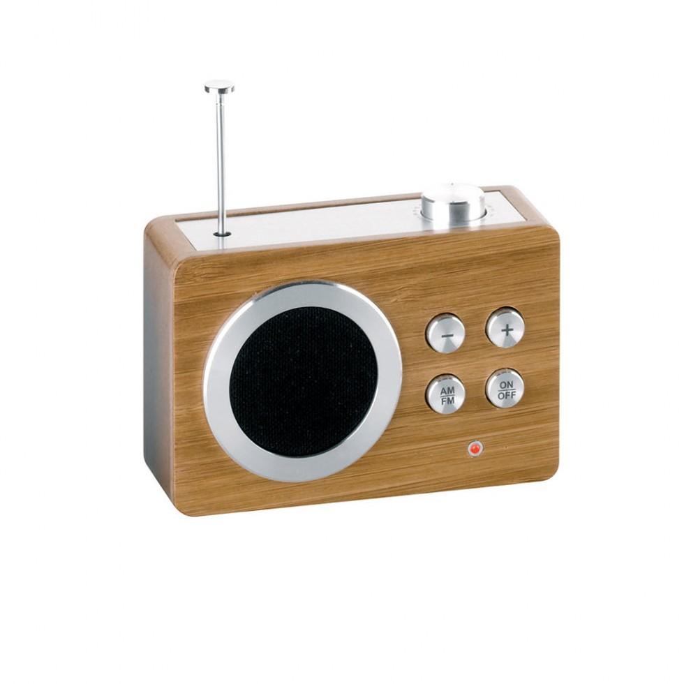 Lexon - Mini Dolmen Radio Bamboo