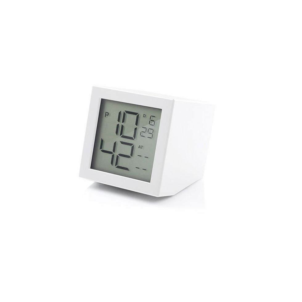 Lexon - Prism Clock White, LCD-Wecker