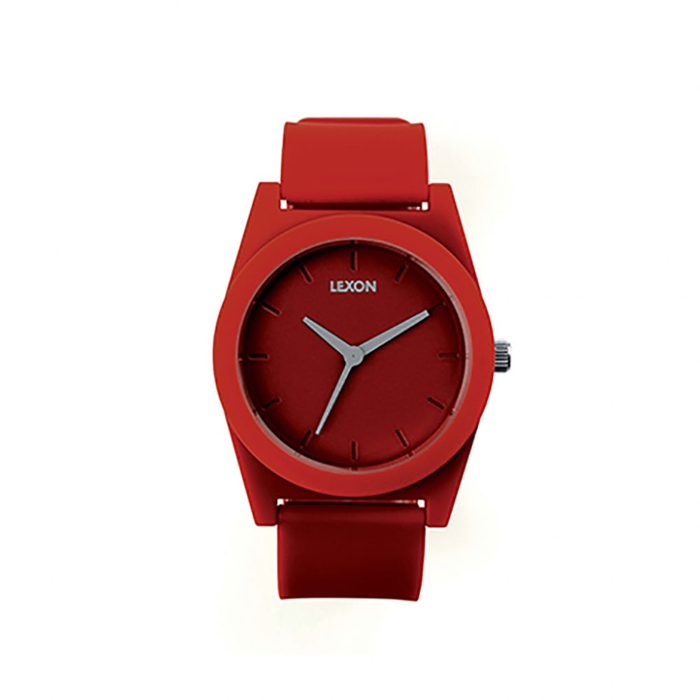 Lexon - Spring Watch Armbanduhr 32mm Rot
