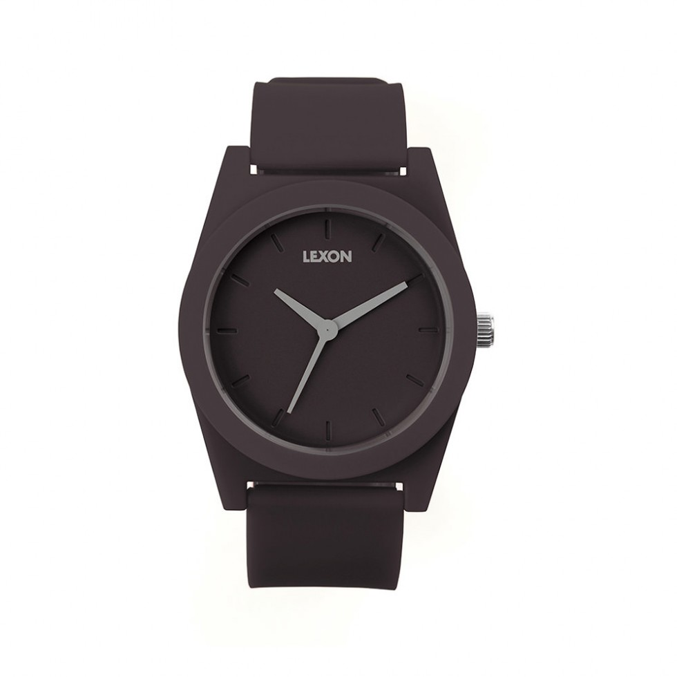 Lexon - Spring Watch Armbanduhr 41mm, Dunkelgrau