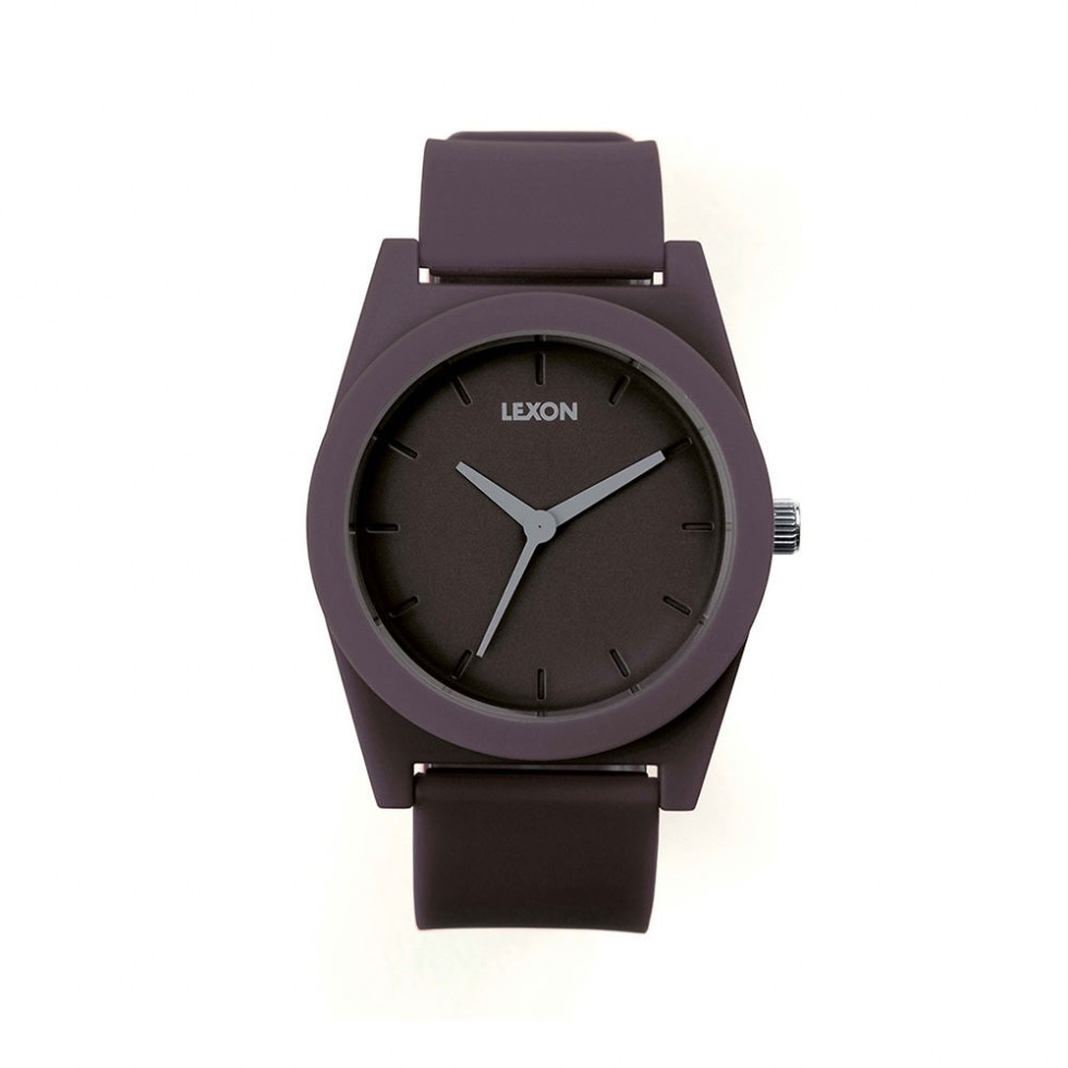 Lexon - Spring Watch Armbanduhr 41mm, Grau