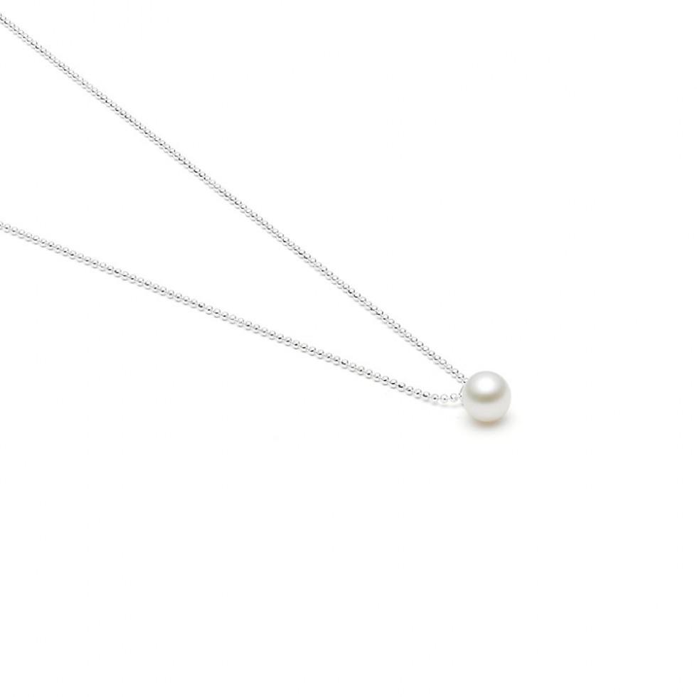 Louise Kragh - Freshwater Pearl Halskette, Silber
