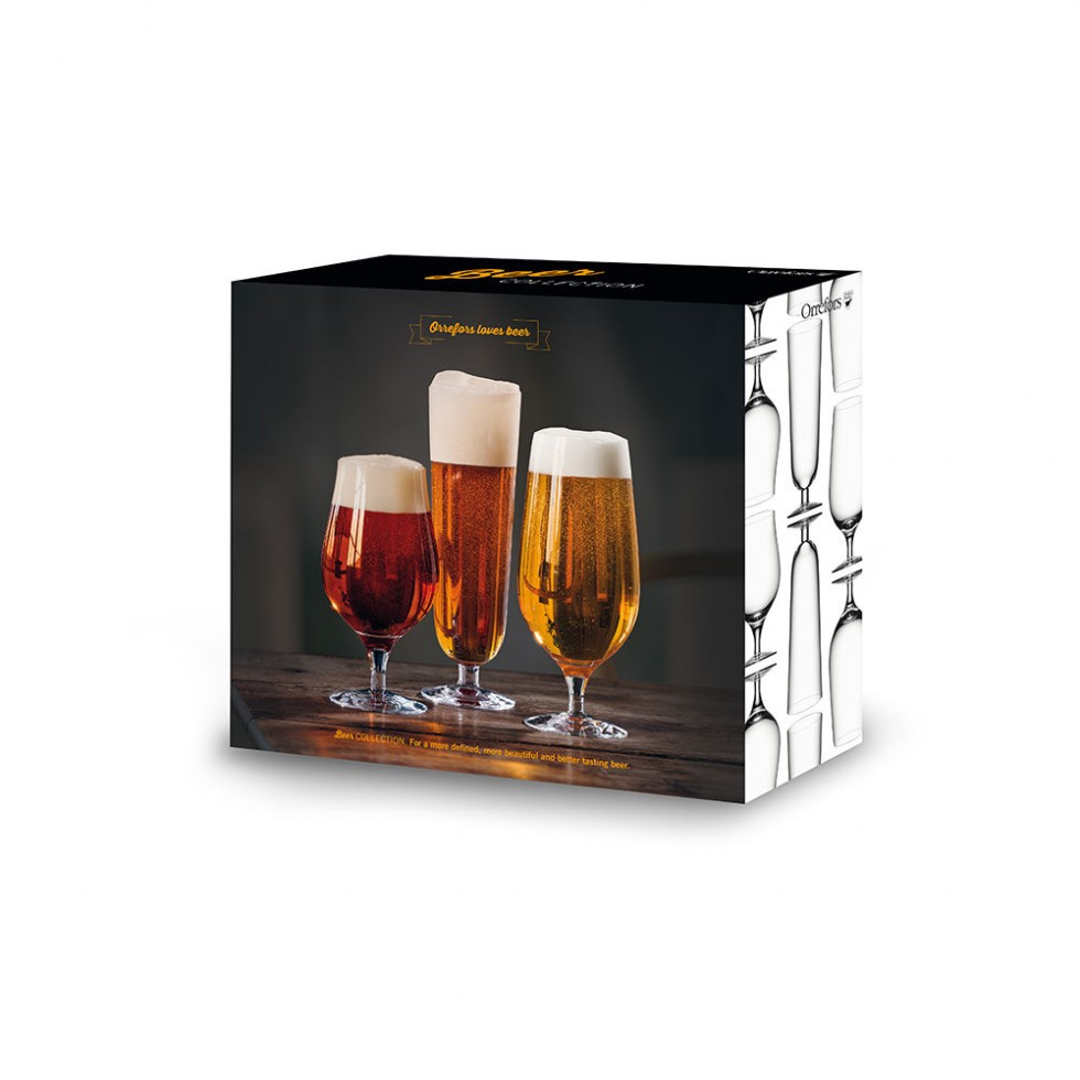 Orrefors - Beer Collection 3er-Set