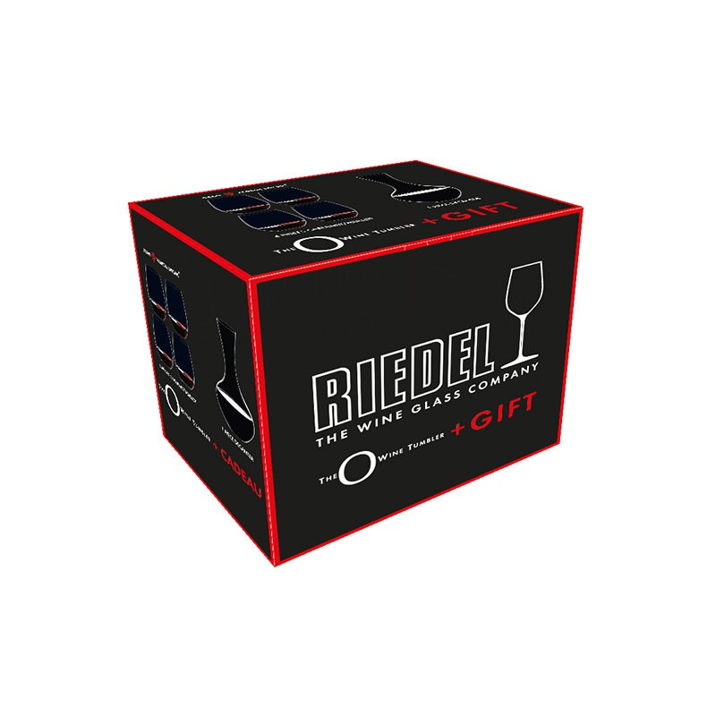 Riedel - Riedel - O Cabernet Weinbecher 4er-Set inkl. Dekanter