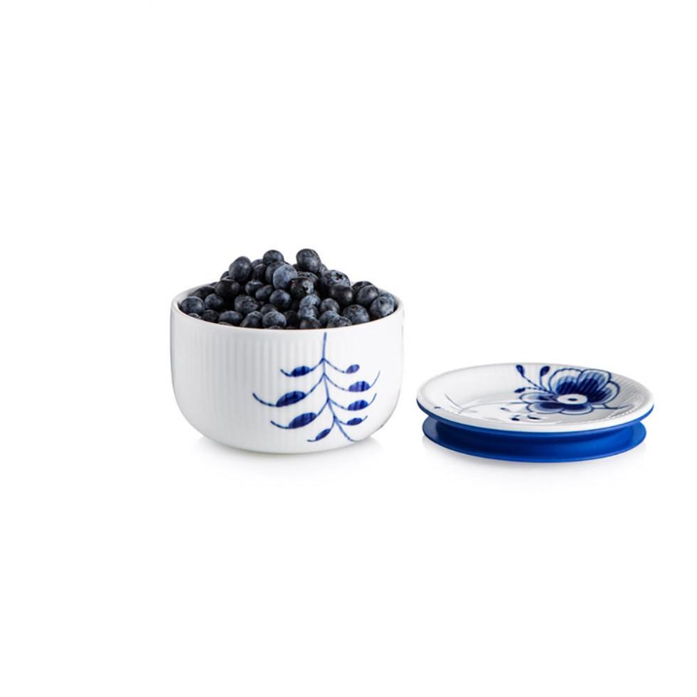 Royal Copenhagen - Mega Blau Aufbewarungs-/Zuckerdose