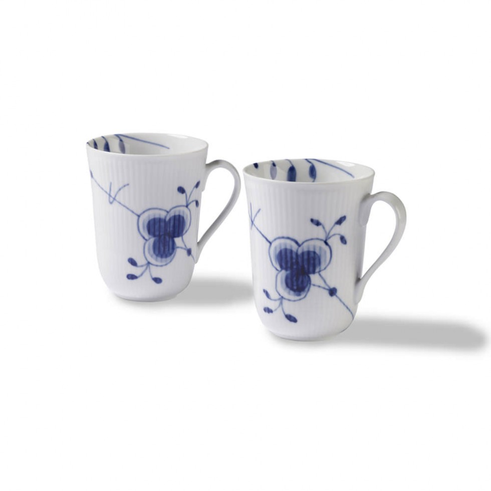 Royal Copenhagen - Mega Blau Becher 33cl, 2er-Set