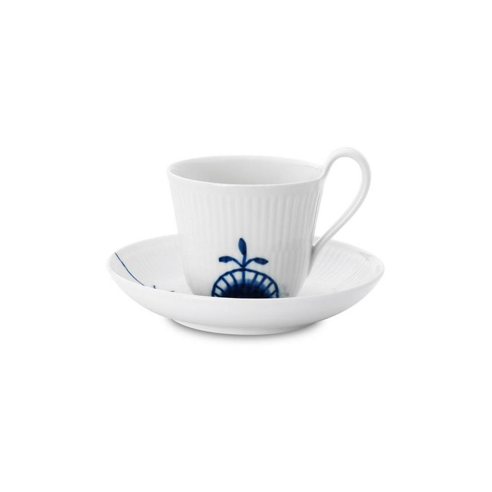 Royal Copenhagen - Mega Blau Hohe Henkeltasse 25cl