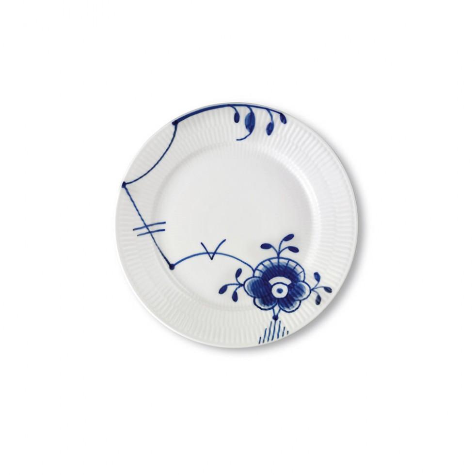 Royal Copenhagen - Mega Blau Mittelgroßer Teller 22 cm