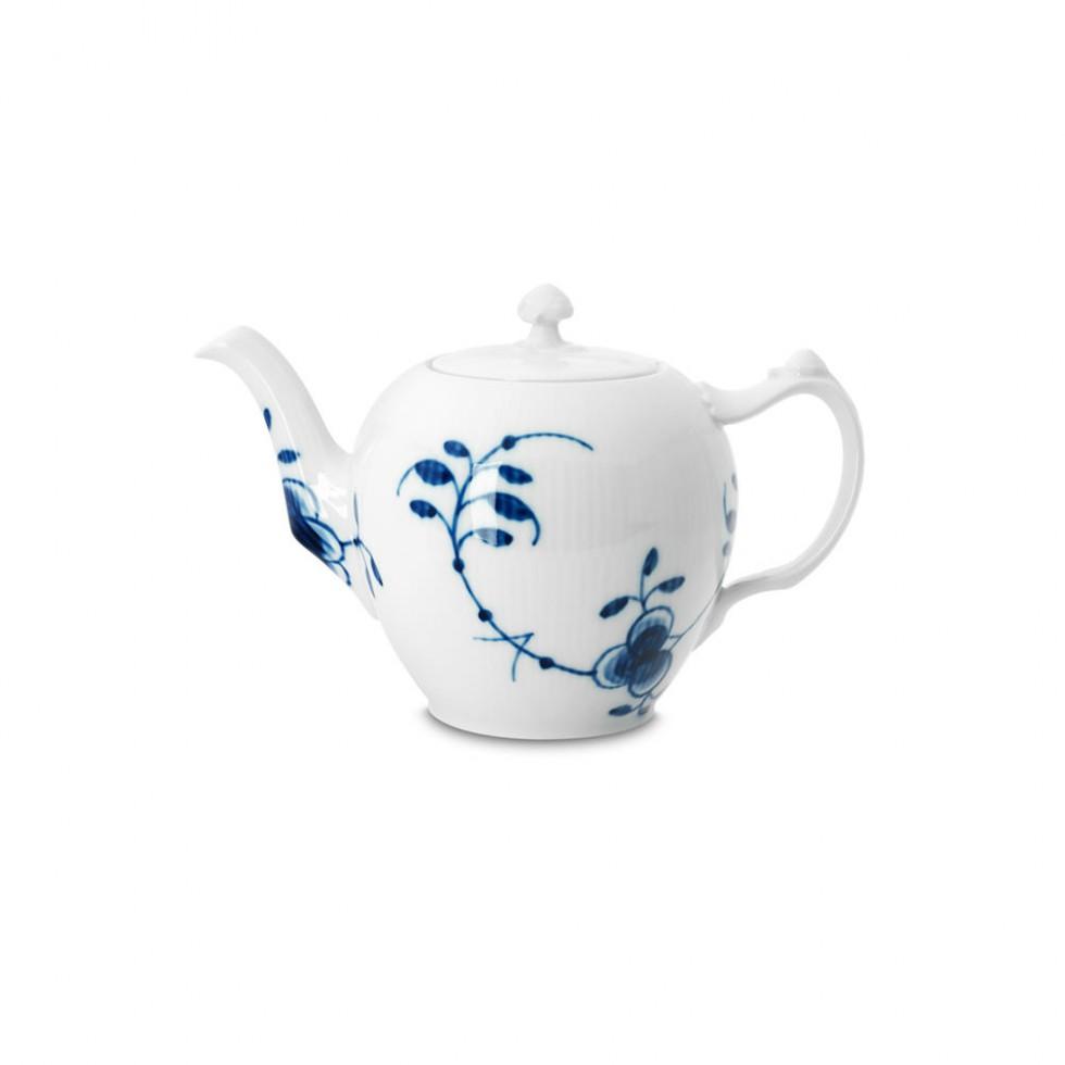 Royal Copenhagen - Mega Blau Teekanne 1L