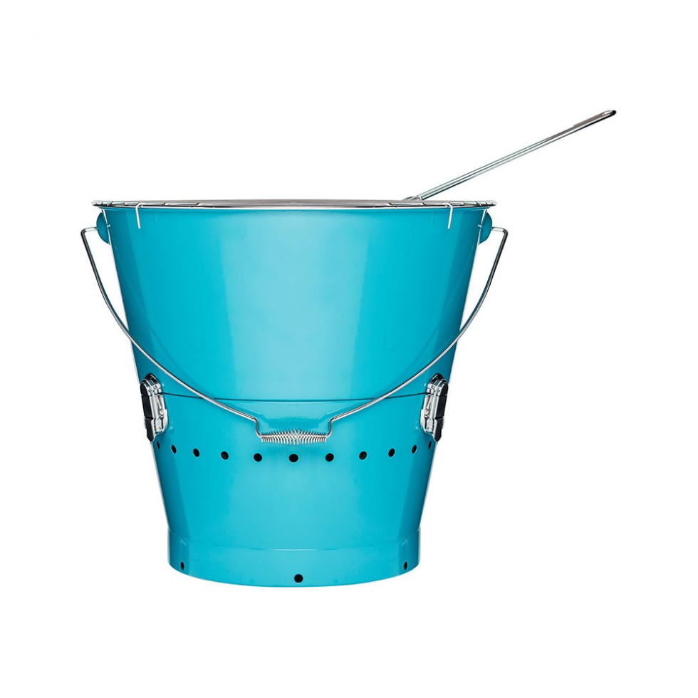 Sagaform BBQ - Grilleimer, blau