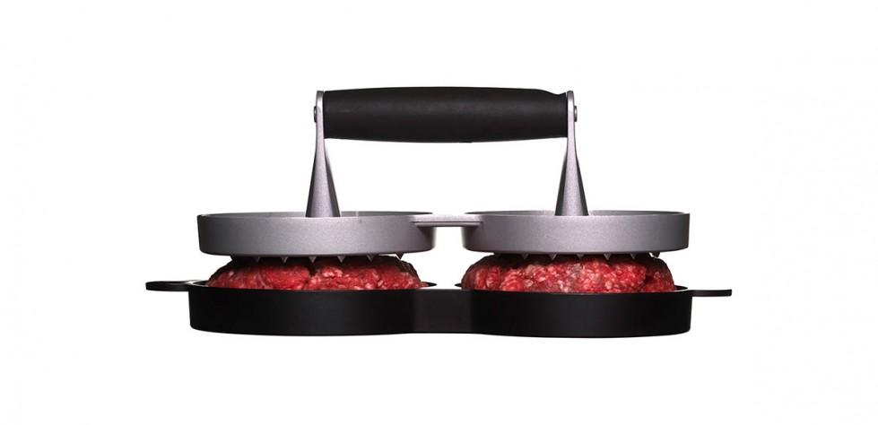 Sagaform BBQ - Hamburger Press, Double