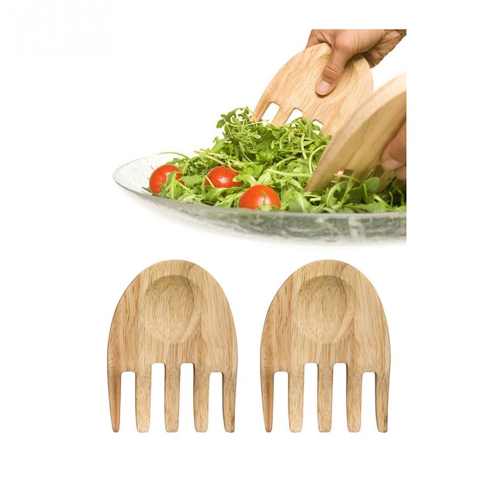 Sagaform Oval Oak - Hand Salatmischer