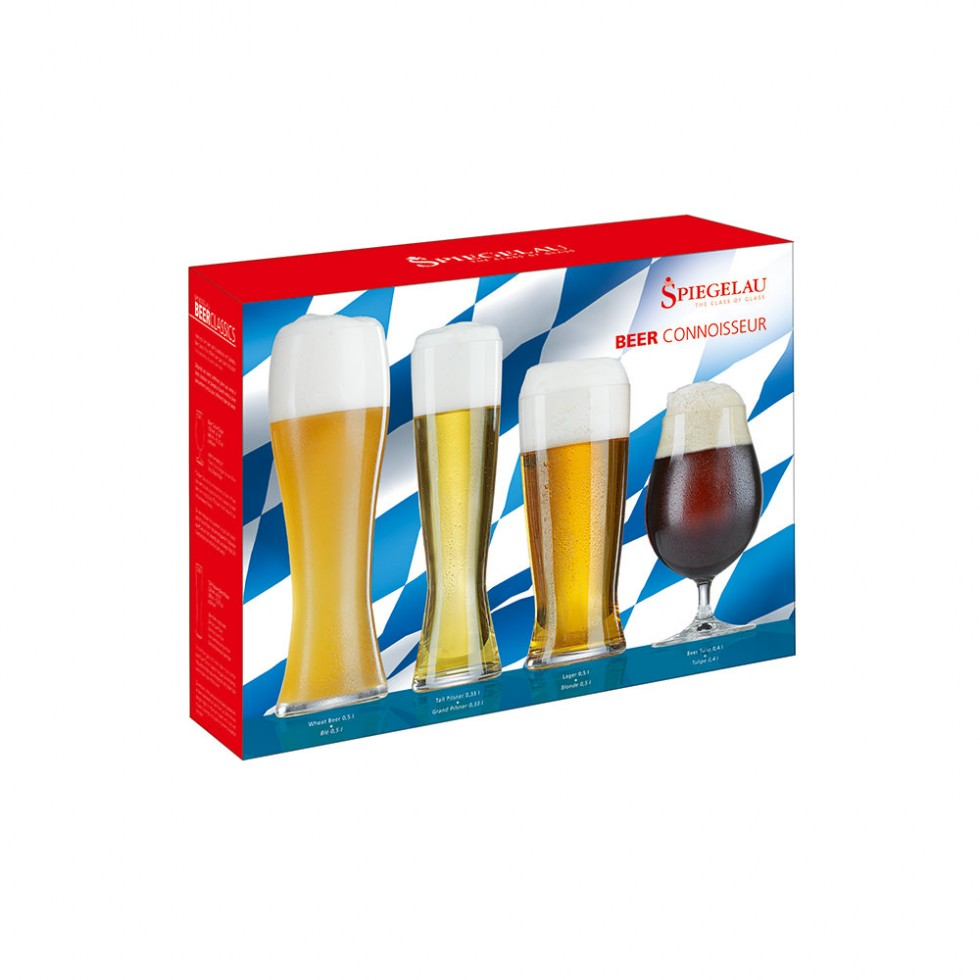 Spiegelau Beer Classics - Bier-Connoisseur 4er Gläserset