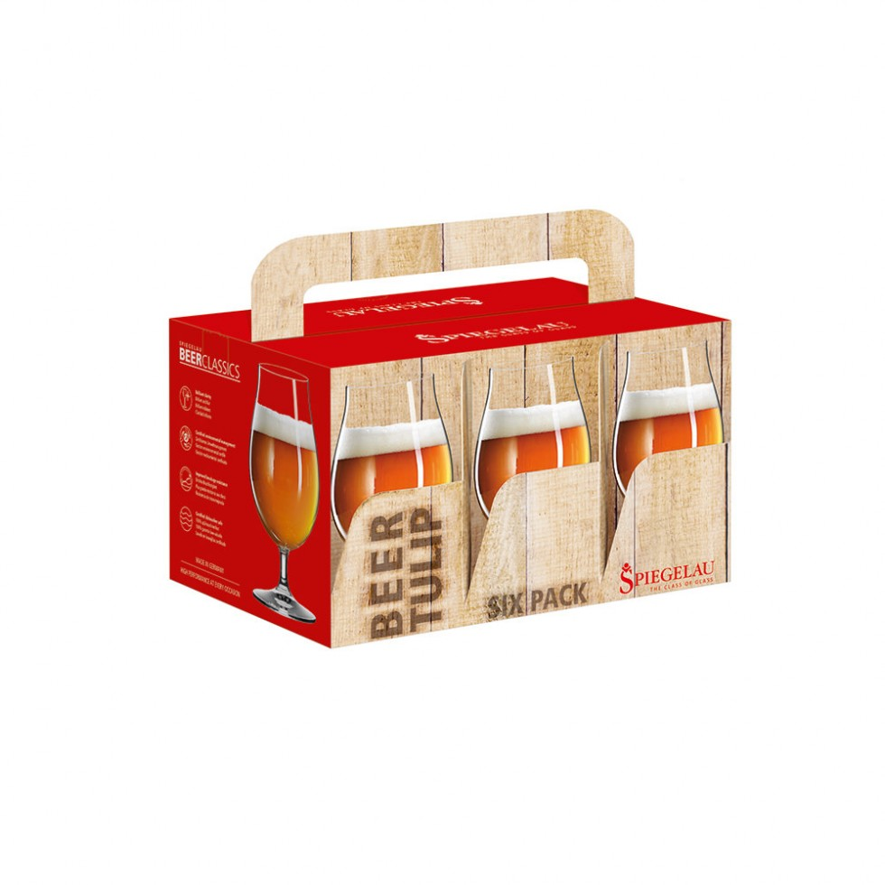 Spiegelau Beer Classics - Biertulpe 0,4, 6er Set