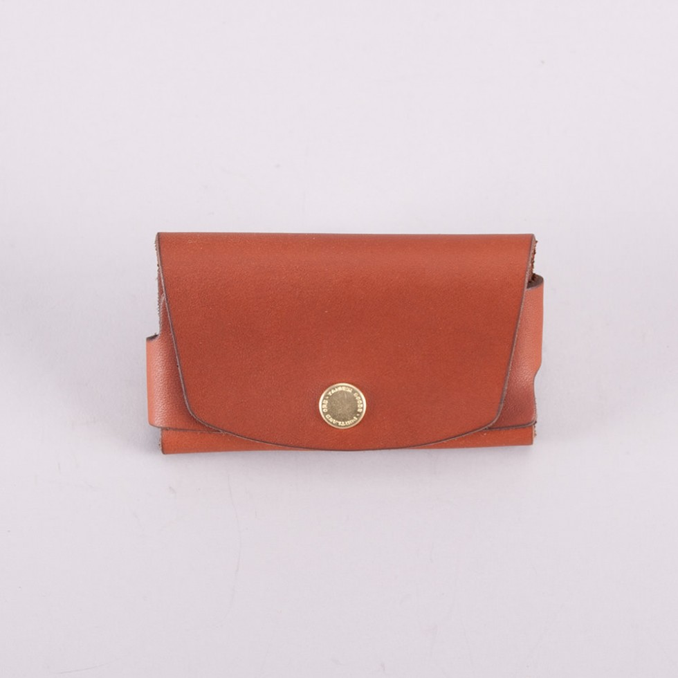 Tanner Goods - Basic Cardholder Chicago Tan
