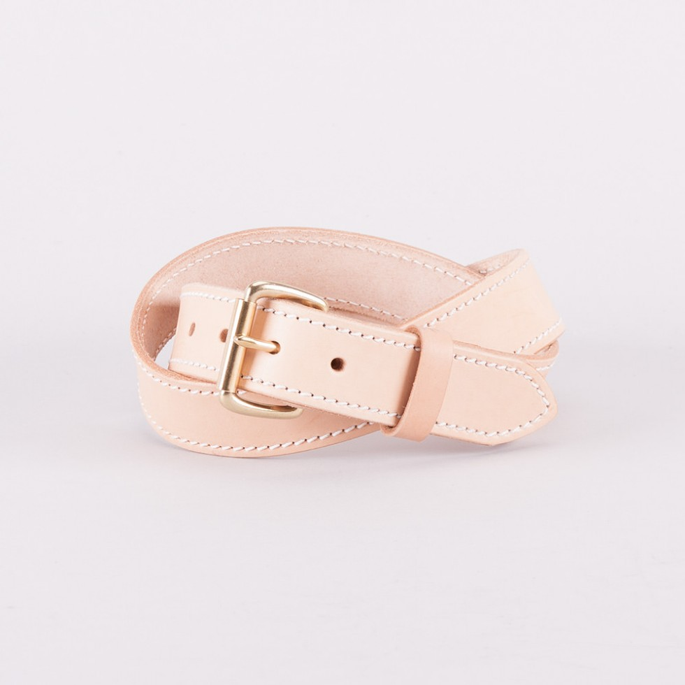 Tanner Goods - Heritage Belt - Natural Tan