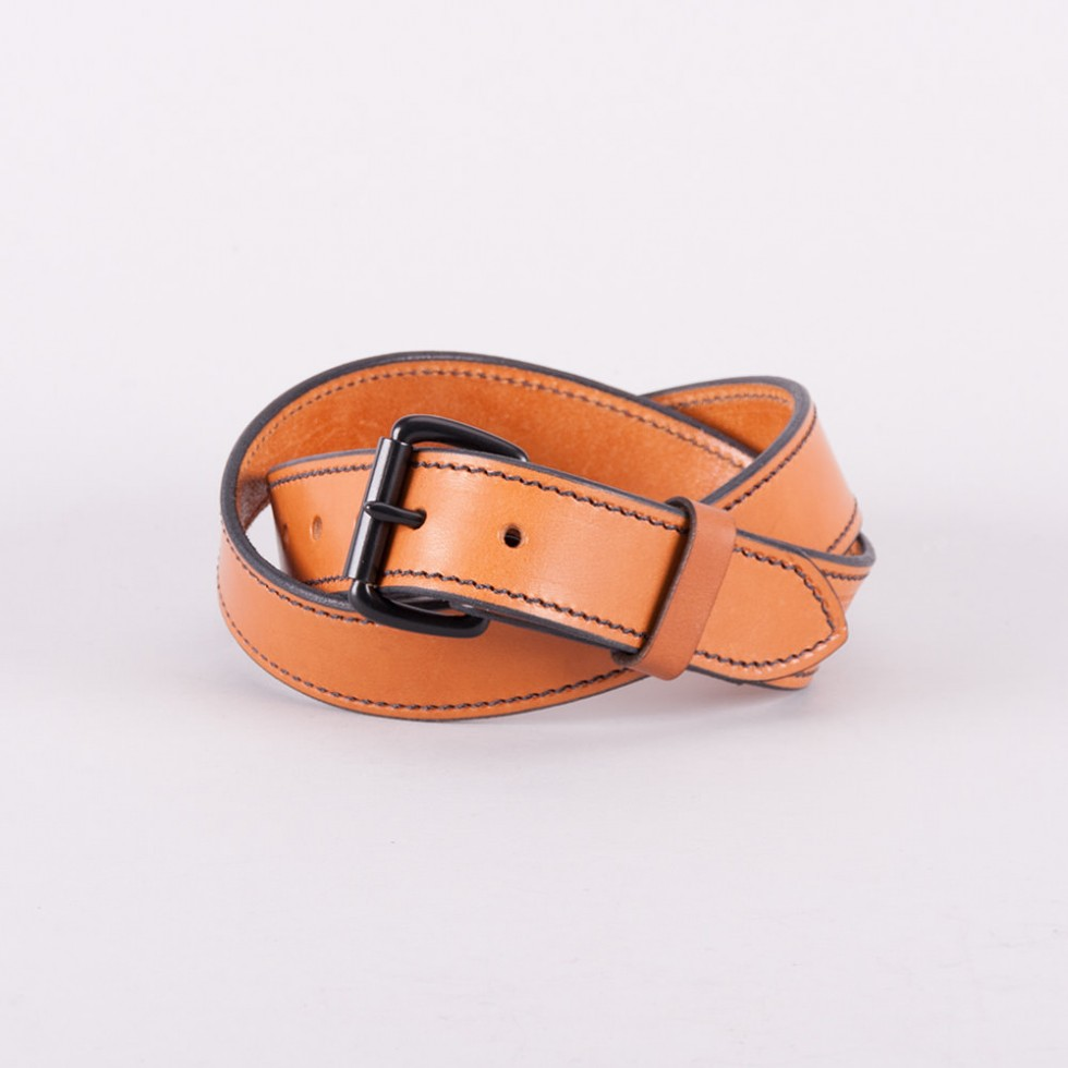 Tanner Goods - Heritage Belt - Saddle Tan