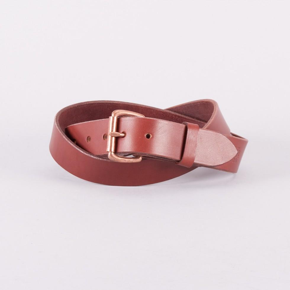 Tanner Goods - Standard Belt - Mahagoni