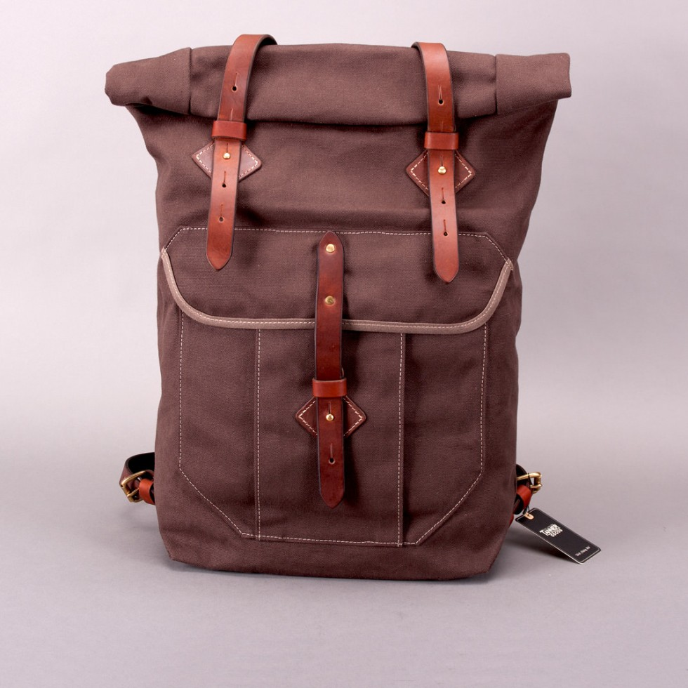 Tanner Goods - Wilderness Rucksack - Walnut