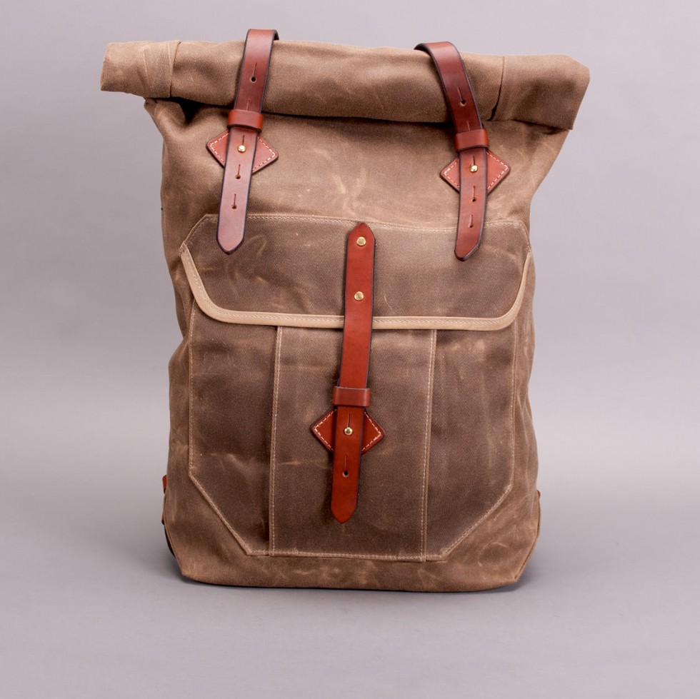 Tanner Goods - Wilderness Rucksack - Waxed Field Tan