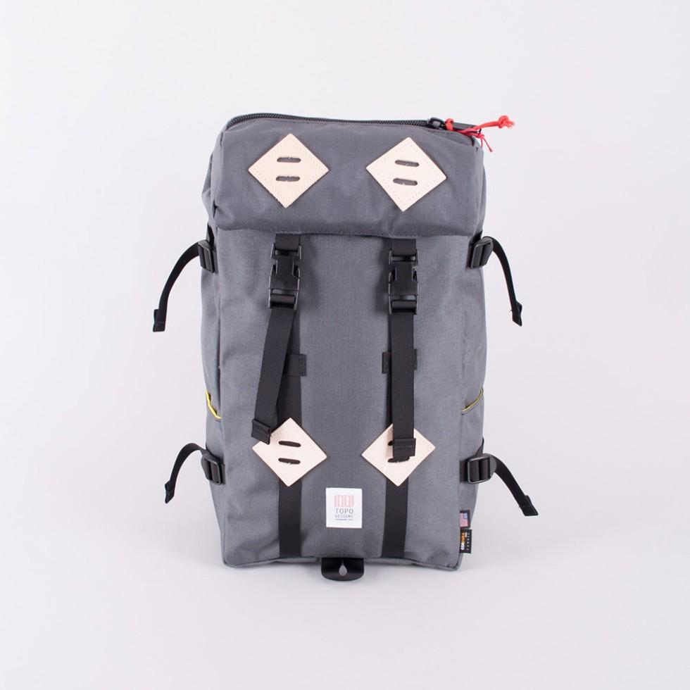 Topo Designs - Klettersack 22L Charcoal-Grau
