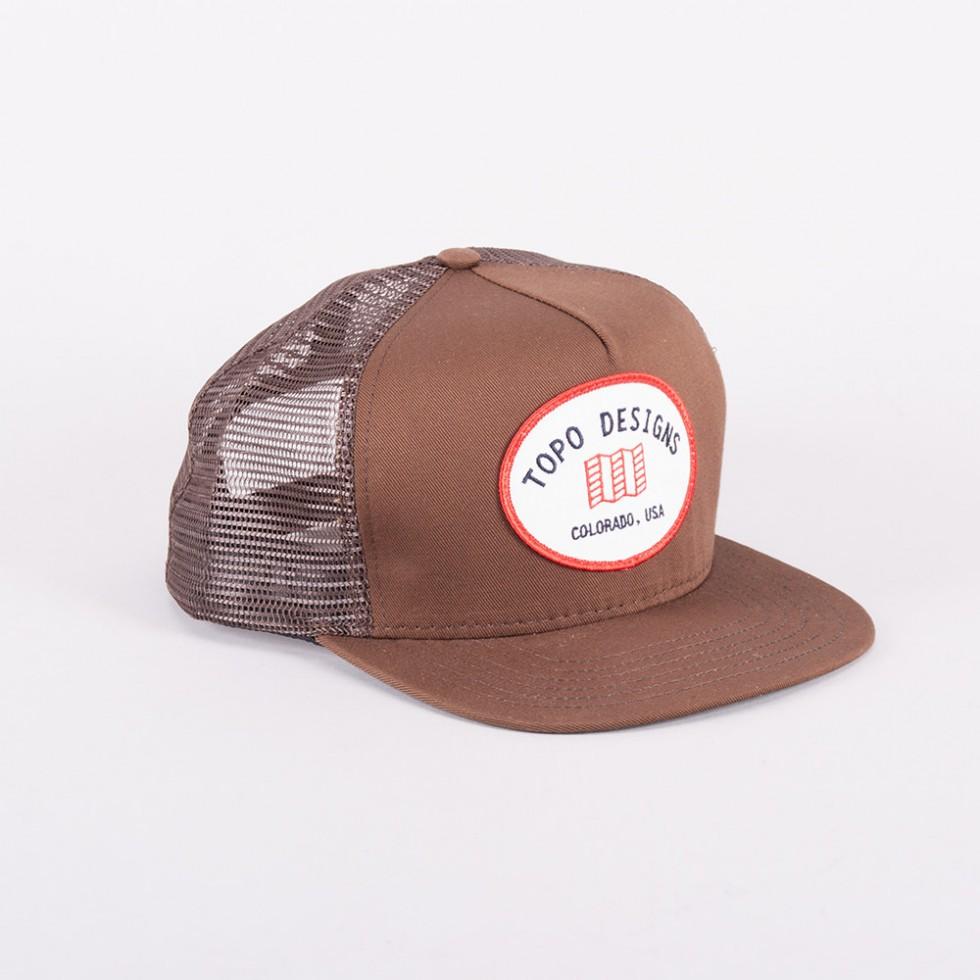 Topo Designs - Snapback Hat Braun