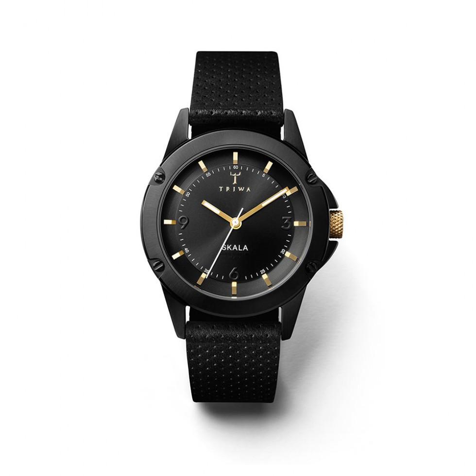 Triwa - Midnight Skala Uhr -  Black Dots Classic