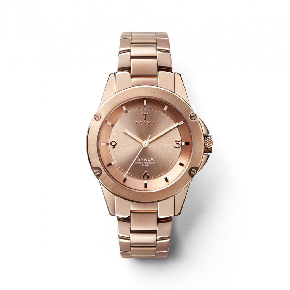 Triwa - Rose Skala Uhr - Rose Brick