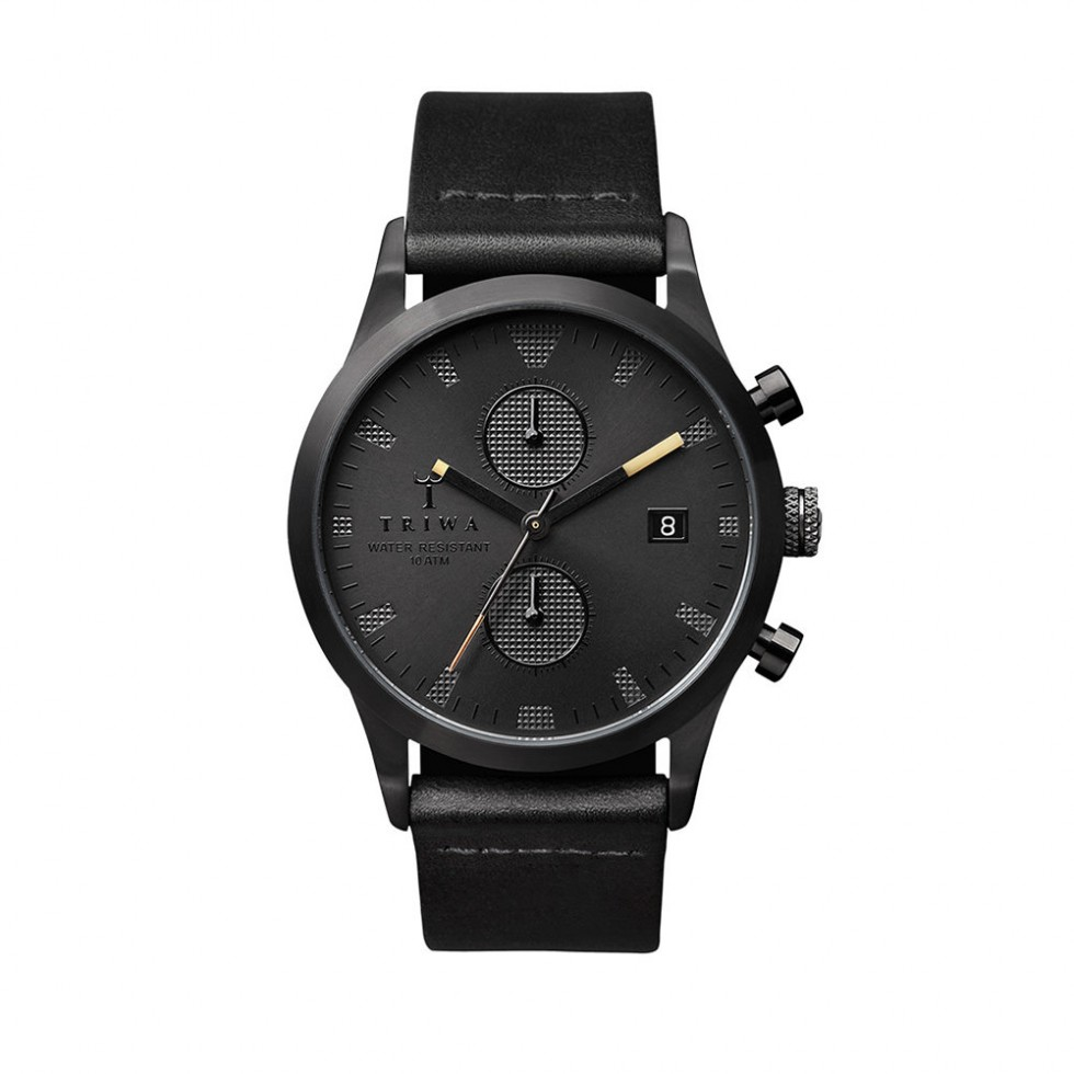 Triwa - Sort Of Black Chronograph - Black Classic