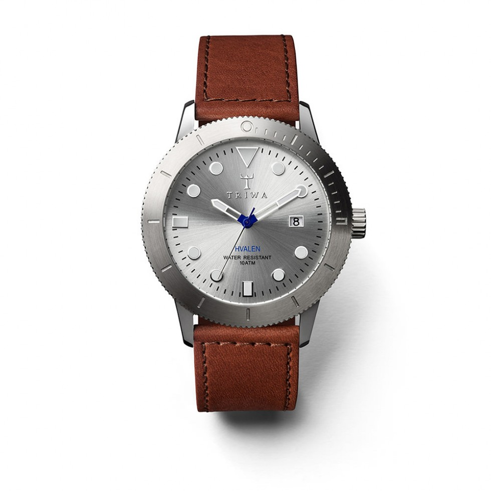 Triwa - Stirling Hvalen Uhr - Brown Sewn Classic