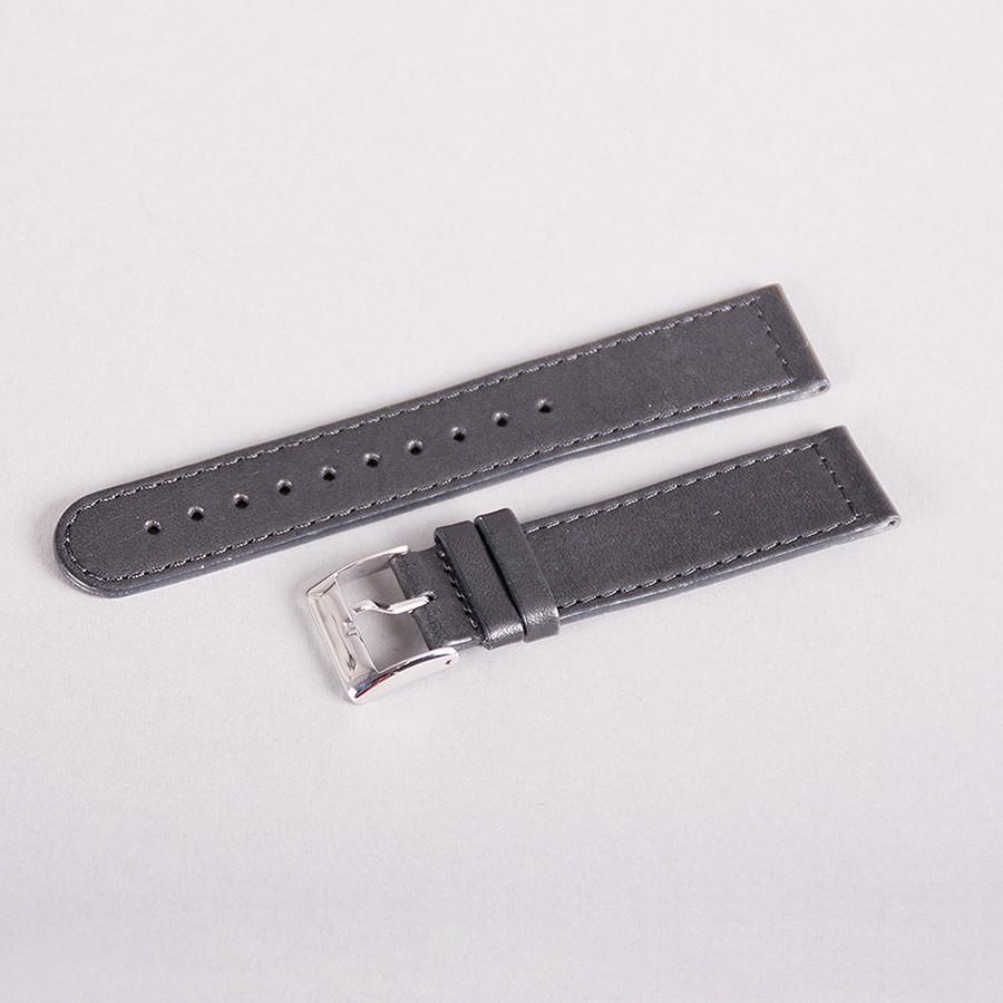 Triwa - Uhrenarmband - Black Sewn Classic