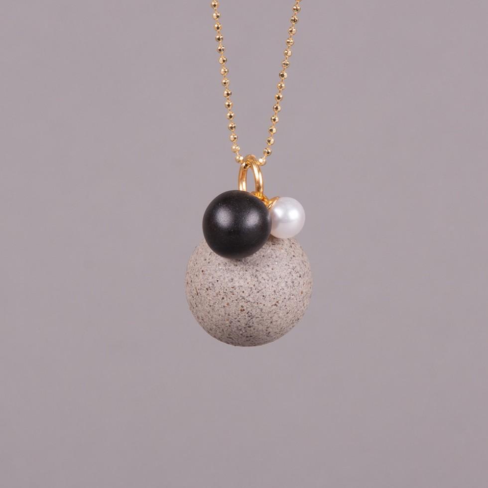Louise Kragh - 3 Pearls II Halskette