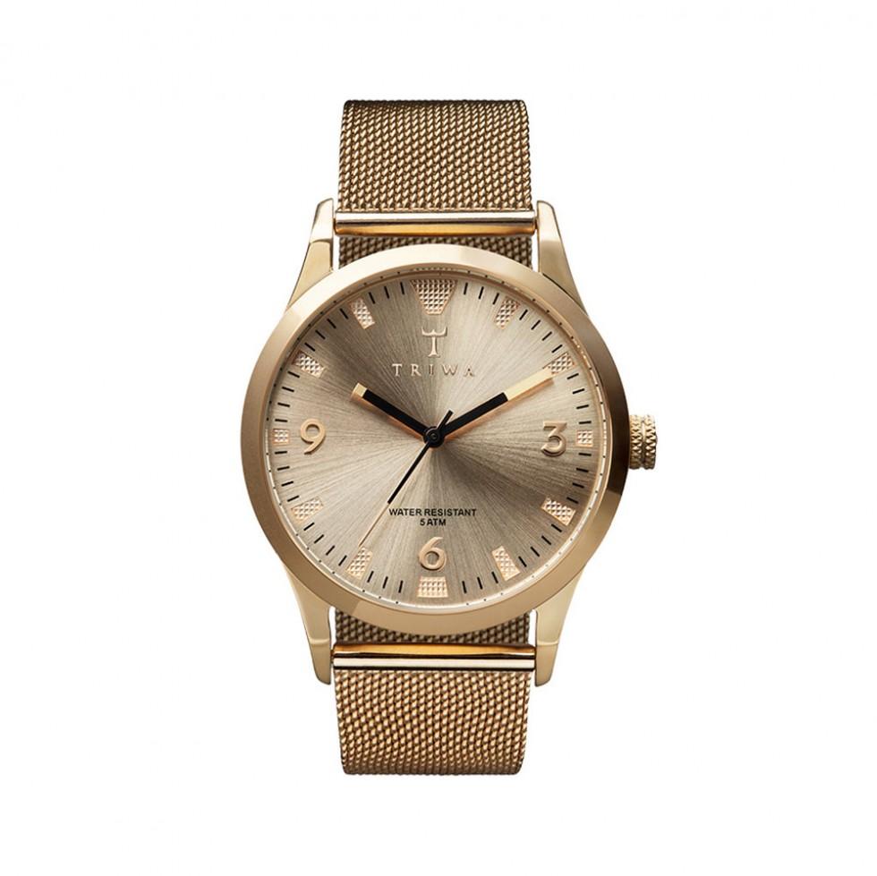 Triwa - Sort Of Black Gold Uhr